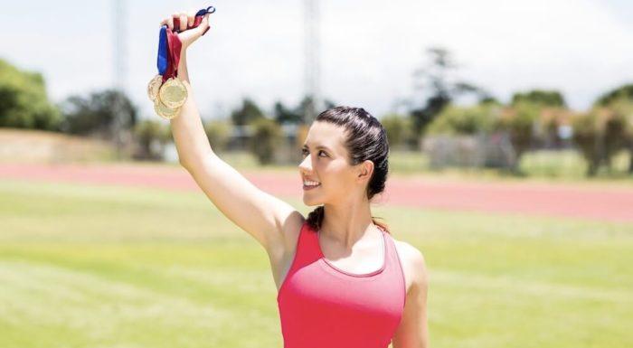 Medaillen von Böhler Sportpreise als Auszeichung für Sportler